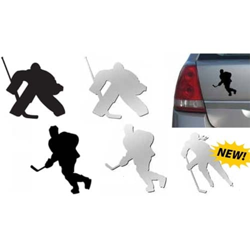 A&R SILHOUETTE HOCKEY MAGNET/DECAL