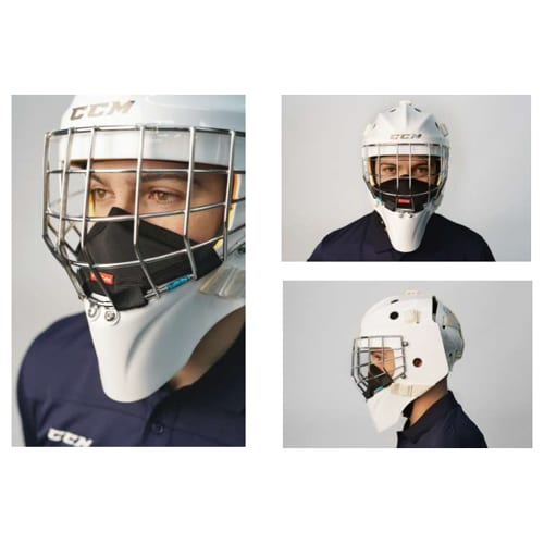 CCM Game On Mask - Goalie