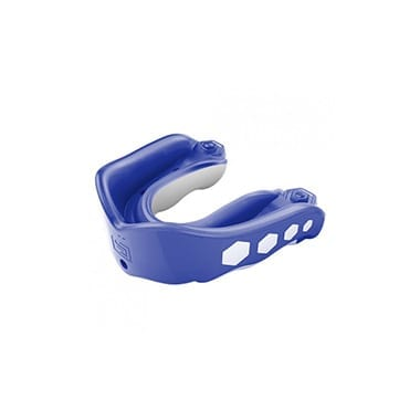 SHOCK DOCTOR GEL MAX FLAVOR FUSION MOUTHGUARD - BLUE RASPBERRY