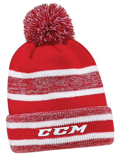 b11ebdfceb1 CCM CORE HEATHERED SENIOR POM KNIT. CCM BERGERON HEATHERED POM HAT YOUTH ·  CCM ...