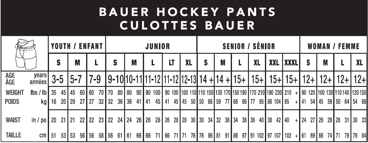 Bauer Goalie Stick Sizing Chart All About Hockey