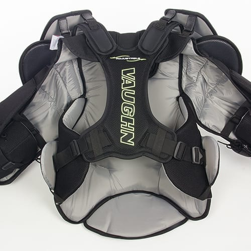 Defend Your Net with Athletic Prowess in Vaughn's Velocity VE8 Pro Senior  Goalie Chest & Arm Protector