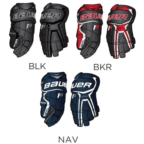 Bauer Supreme 1S Senior Hockey Gloves | Hockey1