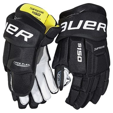 BAUER SUPREME S150 JUNIOR GLOVES