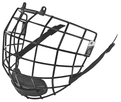 WARRIOR KROWN BLACK FACEMASK
