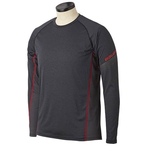 Bauer Essential Long Sleeve Base Layer Top